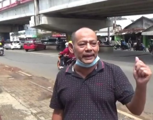 Seorang Nenek Meninggal Usai Dijambret di <i>Flyover</i> Pasar Tugu Bandar Lampung