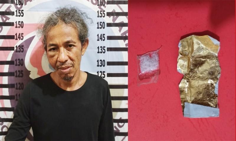 Seorang Warga Simpang Penawar Ditangkap saat Transaksi Sabu