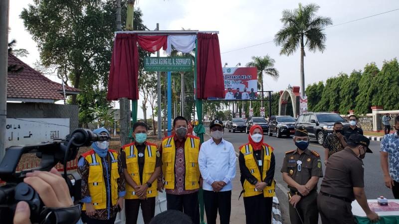 Separuh Jalan Wolter Monginsidi Bandar Lampung Diubah, Ini Nama Barunya