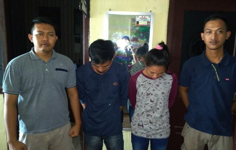 Sepasang Kekasih Terduga Bandar Narkotika Ditangkap