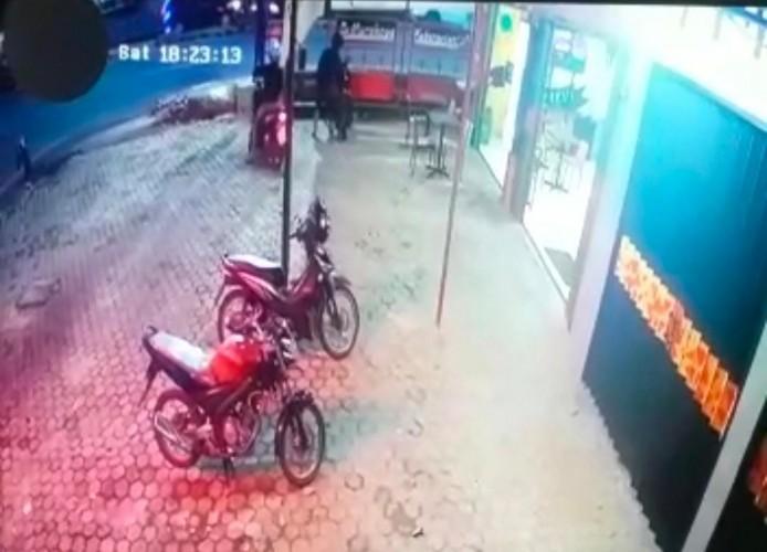 Sepeda Motor Kasir Resto Cepat Saji Raib Dibawa Maling