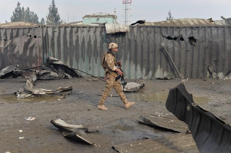 Serangan Taliban Tewaskan 21 Aparat Afghanistan