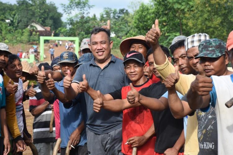 Serap Aspirasi Warga, Umar Ahmad Blusukan ke Tiyuh Terangbumi Agung