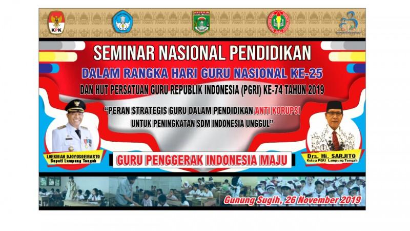 Seribuan Guru Lamteng akan Berkumpul di Nuwo Balak