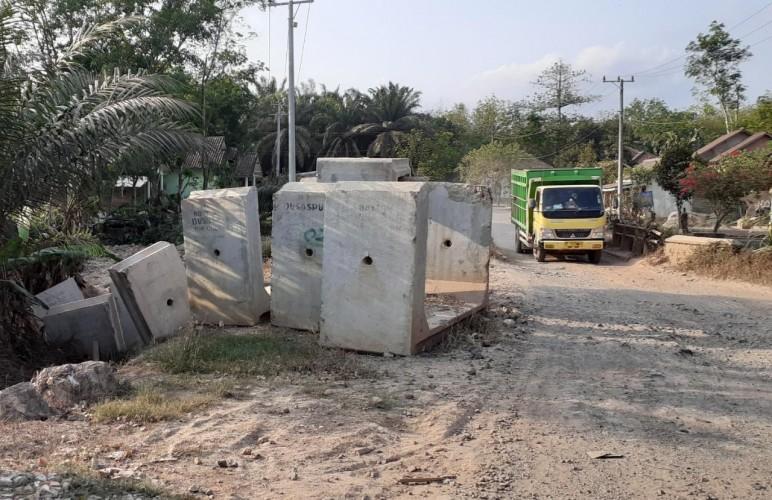Setahun, <i>Box Culvert</i> Senilai Rp10 Miliar di Mesuji Mangkrak