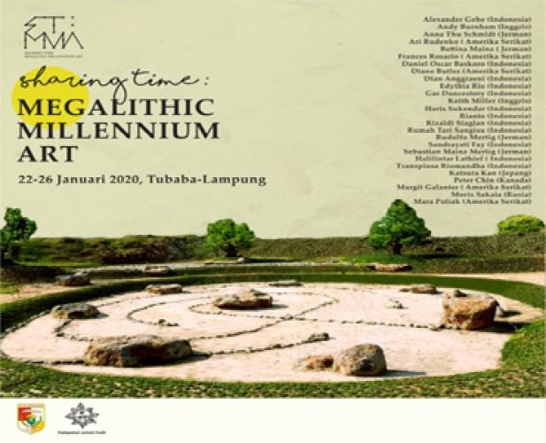 Sharing Time: Megalitic Millennium Art Hadirkan Penggiat Seni dan Budaya Dunia
