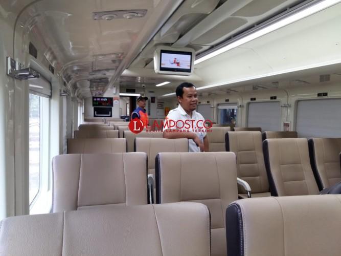 Siang Ini, Pjs Gubernur Lampung Resmikan KA Kuala Stabas
