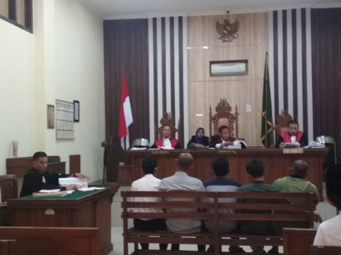 Sidang Dugaan Pungli Pembebasan Tol Hadirkan Enam Saksi