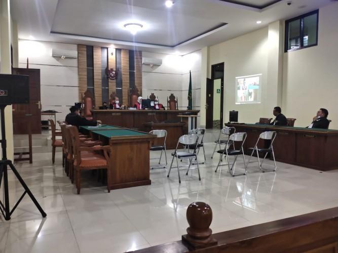 Sidang Tuntutan Korupsi Dana BOK Lampung Utara Ditunda Pekan Depan