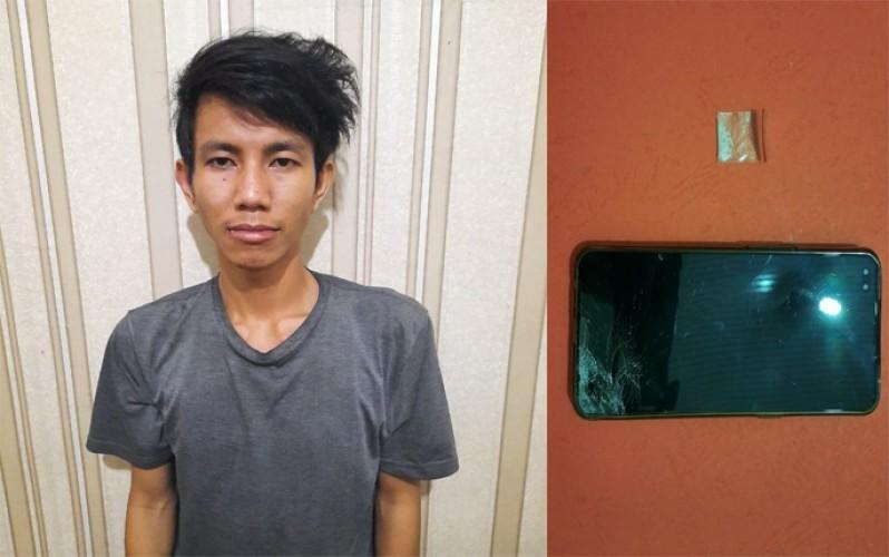 Simpan Sabu, Seorang Pemuda Menggala Kota Ditangkap Polisi