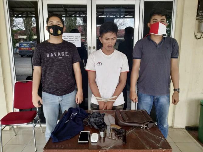 Simpan Senpi Rakitan, Pemuda Asal Tiyuh Tunasjaya Diciduk Polisi