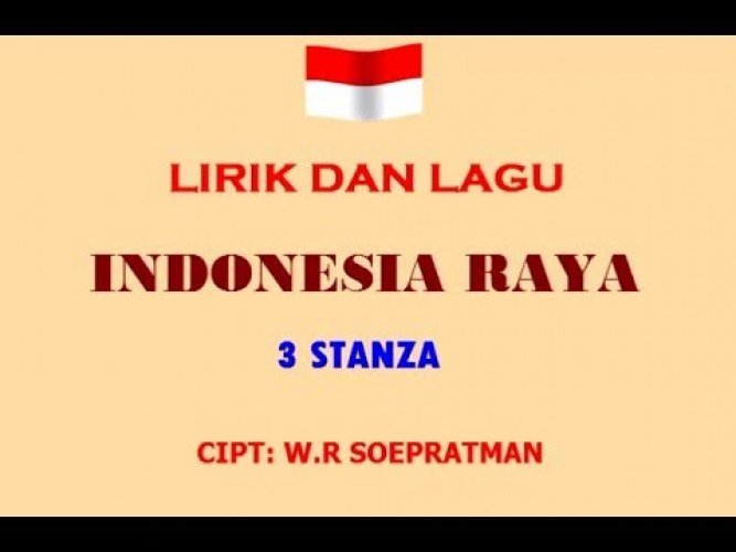 Siswa Baru Diminta Menghafal Indonesia Raya 3 Stanza