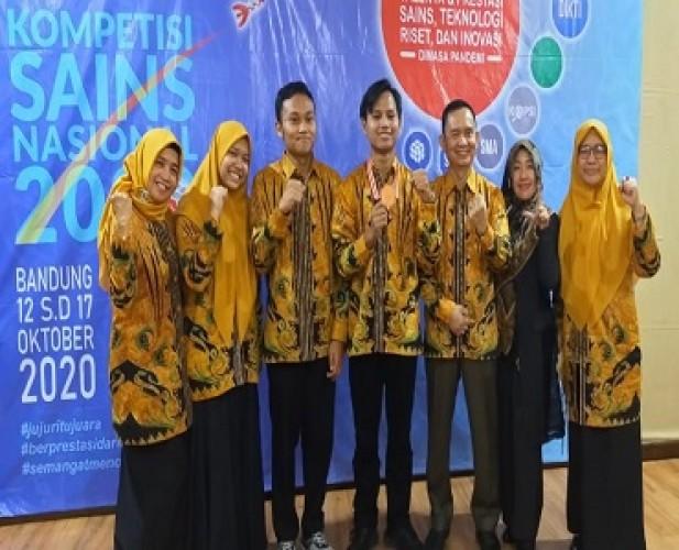 Siswa Lampung Sabet Perunggu Kompetisi Sains Nasional 2020