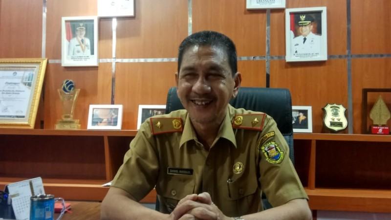 Siswa SD dan SMP di Bandar Lampung Sekolah di Rumah