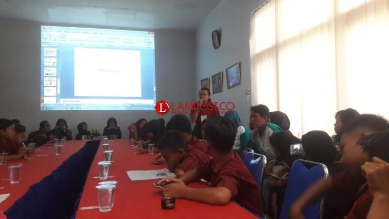 Siswa SD PG Bunga Mayang Antusias Ingin Jadi Wartawan