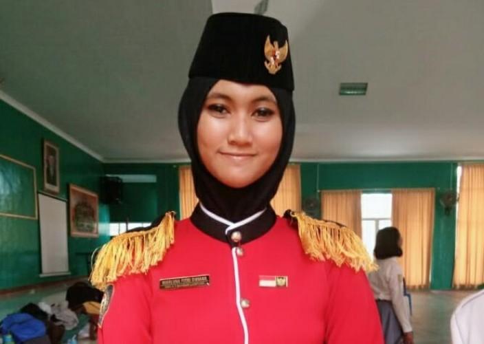Siswi SMAN 7 Bandar Lampung Ini Wakili Lampung Jadi Paskibraka di Istana Presiden