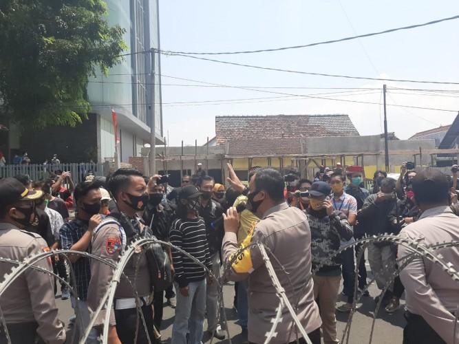 Situasi di Bawaslu Bandar Lampung Kembali Kondusif