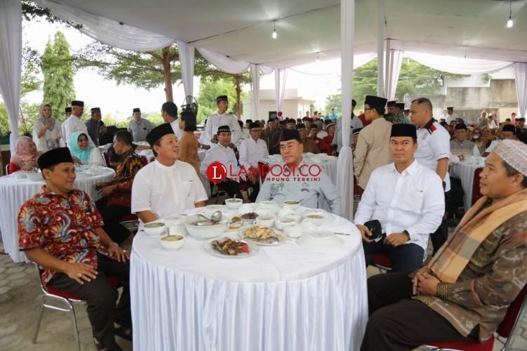 Sjachroedin-Arinal Dukung Rycko di Pilwakot Bandar Lampung