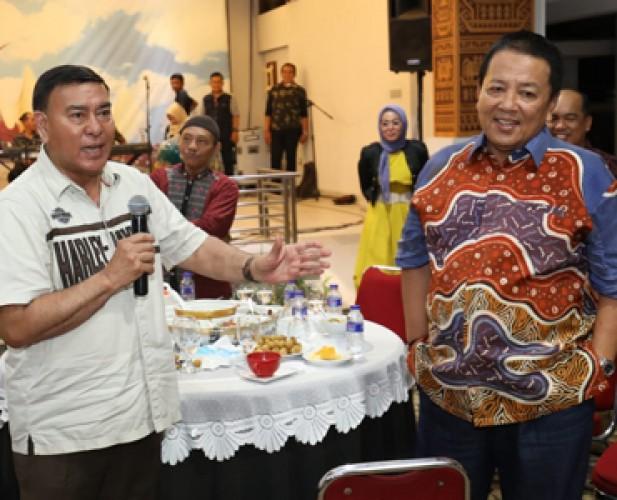 Sjachroedin dan Gubernur Rangkul Pensiunan untuk Dukung Pembangunan