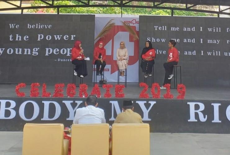 Skala-PKBI Lampung Kampanyekan Setop <i>Bully</i>