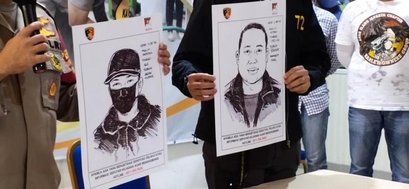 Sketsa Wajah Pelaku Penembakan di Kelapa Gading Disebar