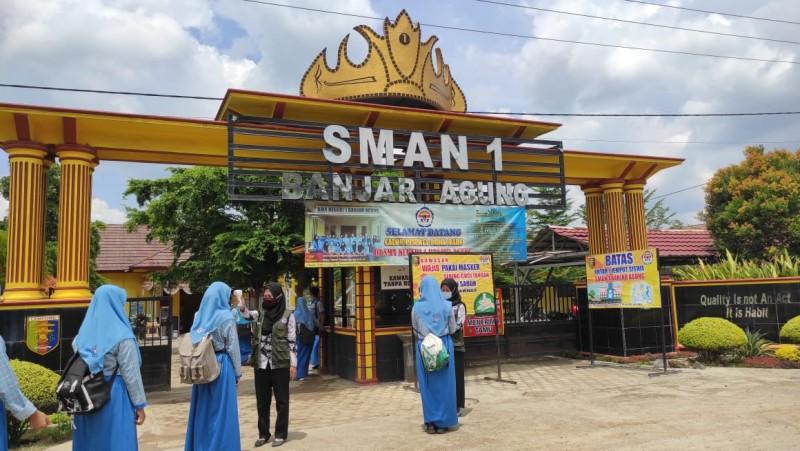 SMA 1 Banjaragung Bentuk SatgasJelang KBM Tatap Muka