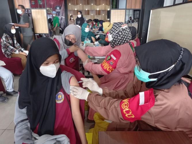 SMAN 5 Bandar Lampung Kebut Vaksin Lindungi Peserta Didik