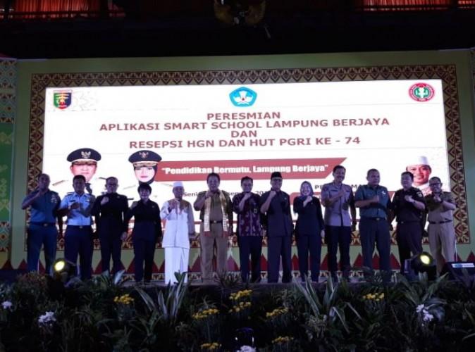 Smart School Lampung Berjaya Resmi Diluncurkan