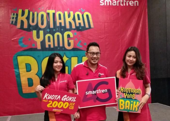 Smartfren 4G+ Siap Temani Ramadan dan Mudik Lebaran dengan Kuota Super Besar