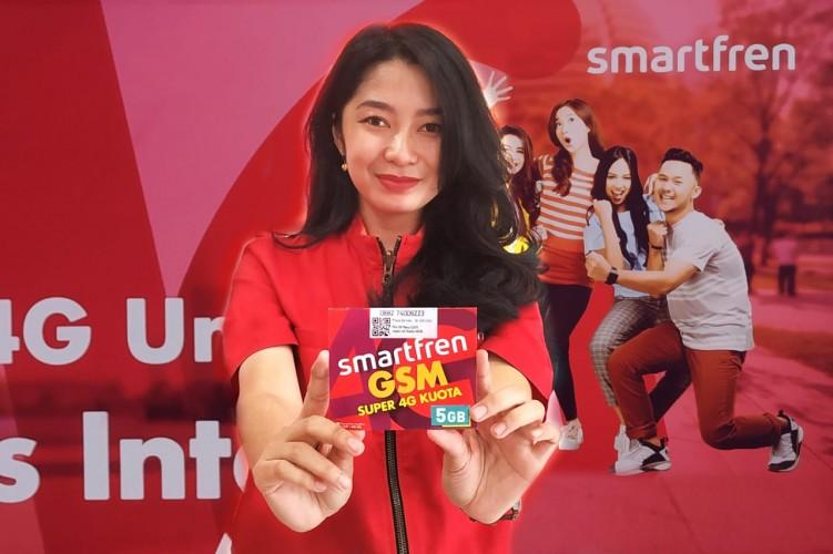 Smartfren Luncurkan Perdana Super 4G 5GB untuk Kaum Millenial Hanya Seharga Rp12 Ribuan