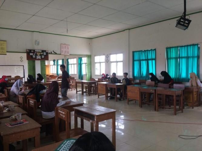SMK Muhammadiyah 1 Metro Gandeng PWI Gelar Pelatihan Jurnalistik