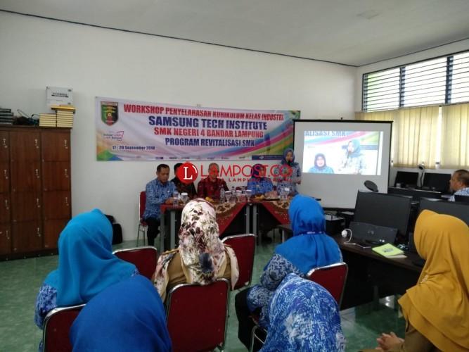 SMKN 4 Bandar Lampung Gandeng Samsung Selaraskan Kurikulum