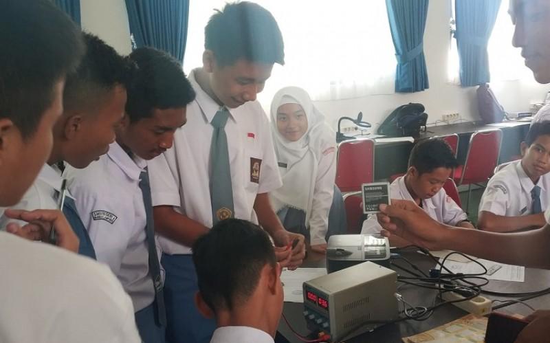 SMKN 4 Bandar Lampung Selaraskan Kurikulum Berbasis Industri 4.0