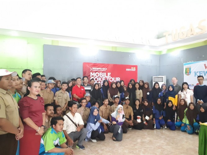 SMKN 5 Bandar Lampung Perdalam Kewirausahaan Era Digital