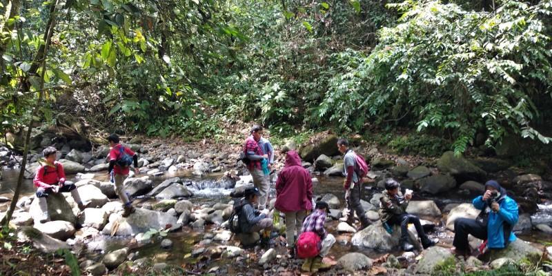SMP SAC Bogor Belajar Alam di TNBBS