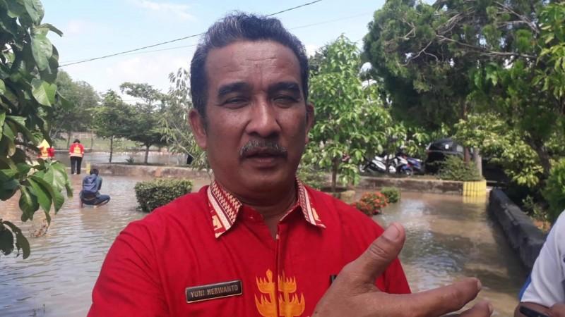 SMPN 24 Kebanjiran Akibat Drainase Terhalang Lapangan Golf
