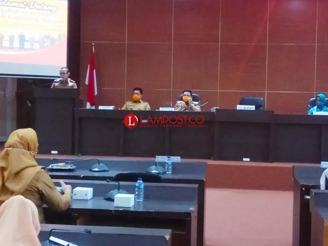 Soal Pejabat Rangkap Jabatan, Pjs Bupati Lamsel Pilih Diam