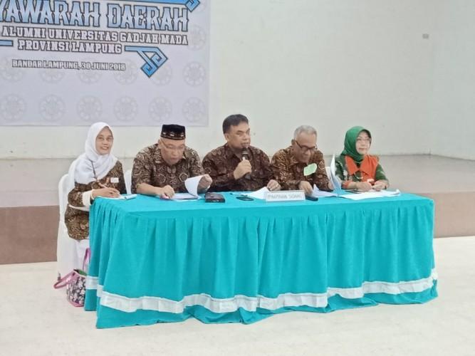Soeradi Kembali Pimpin Kagama Lampung