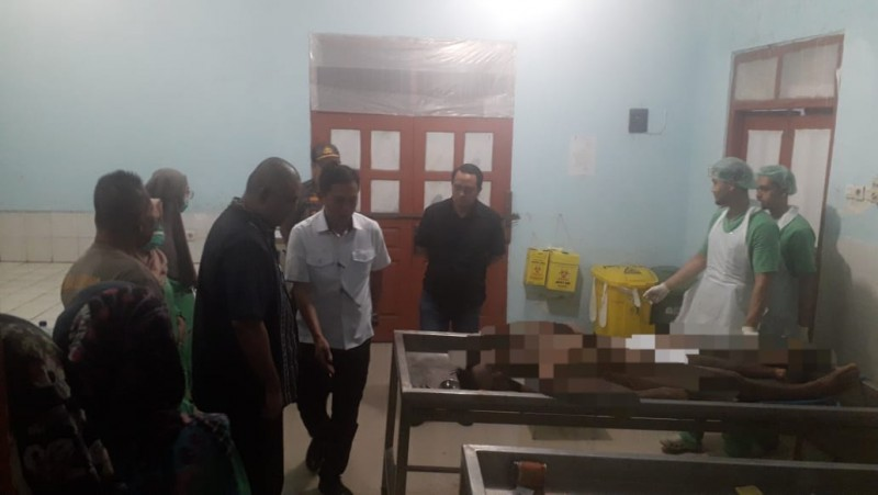 Mayat Ditemukan di Desa Haduyang Bernama Agus