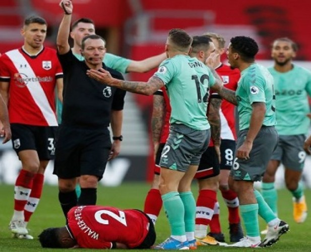 Southampton Berikan Kekalahan Perdana Everton
