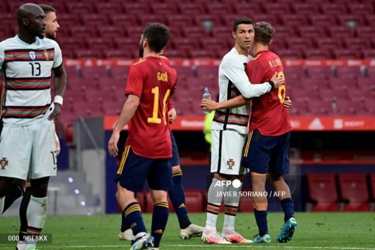 Spanyol Vs Portugal Imbang Tanpa Gol