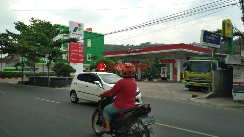 SPBU di Bandar Lampung Yang Jual Premium Jadi 6 Lokasi
