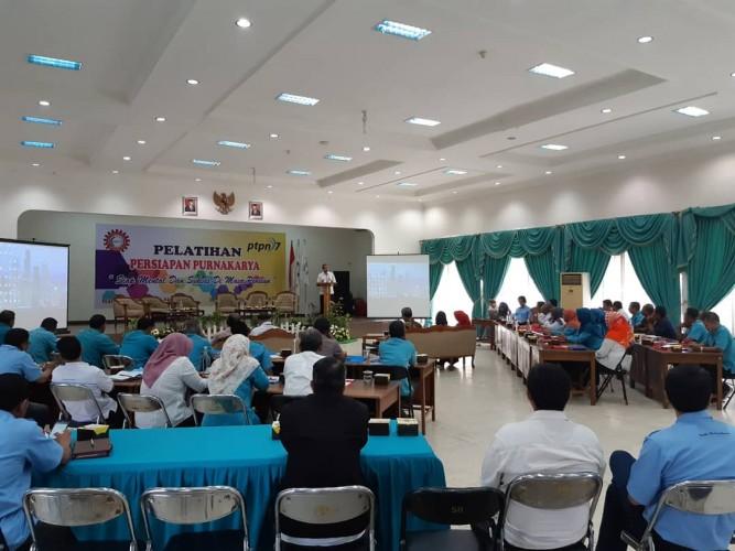 SPPN VII Beri Pelatihan Bagi Calon Purnakarya