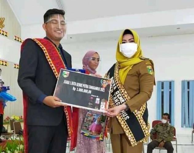 SPRI Apresiasi Mahasiswa Tanggamus Peraih Juara 1 Duta GenRe