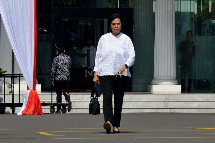 Sri Mulyani Jadi Orang Ke-13 yang Dipanggil Jokowi