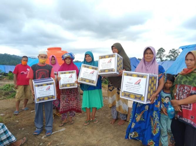 Sriwijaya Air Group Gandeng Rumah Harapan Salurkan Bantuan ke Luwu Utara