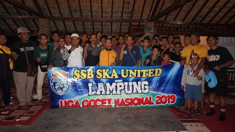 SSB-SKA U-14 Wakili Lampung Ikuti Liga Gocek Nasional