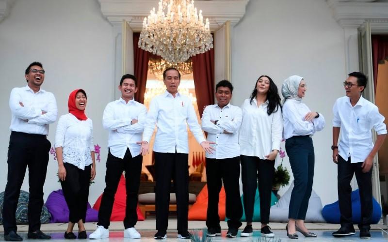 Staf Khusus Milenial Bukti Jokowi Siapkan Transformasi Regenerasi