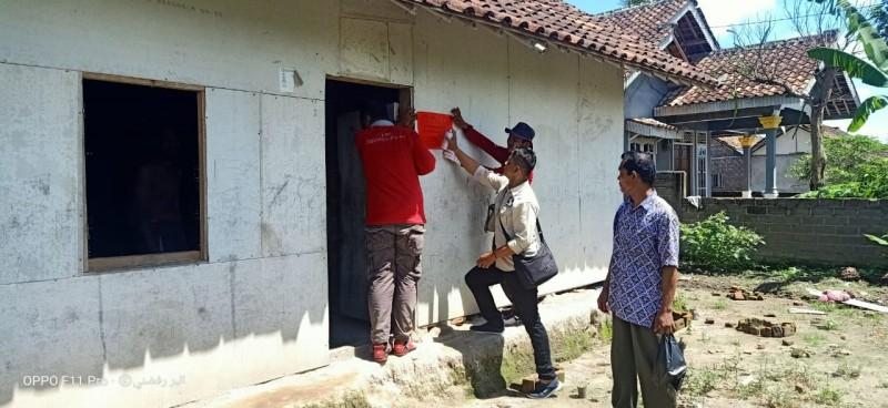 Stiker PKH Mulai Dipasang, 13 KPM Desa Kemukus Mengundurkan Diri