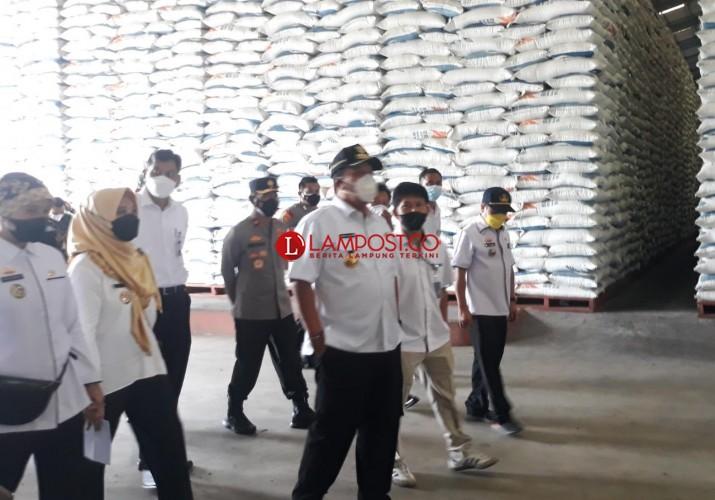 Stok Pangan di Lampung Aman